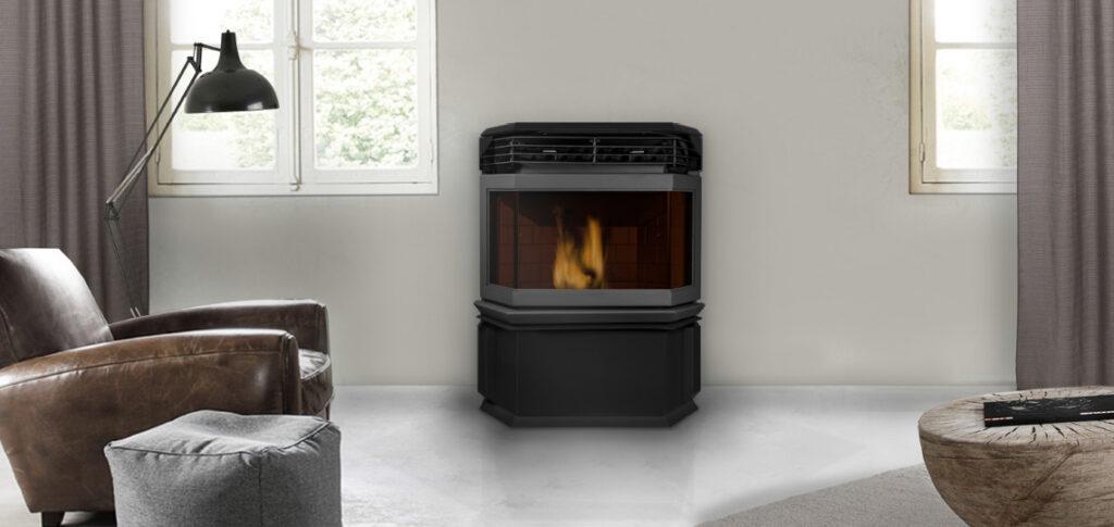 estufa pellets aire eco i
